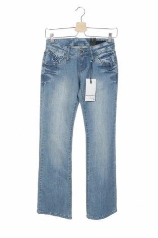 Дамски дънки Outfitters Nation, Размер XXS, Цвят Син, 98% памук, 2% еластан, Цена 10,27лв.