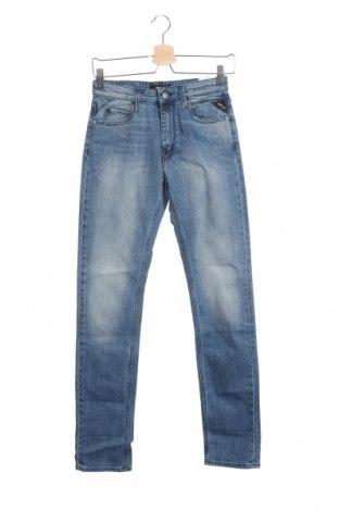 Дамски дънки Replay, Размер XS, Цвят Син, 98% памук, 2% еластан, Цена 32,32лв.