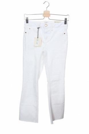 Дамски дънки River Island, Размер XS, Цвят Бял, 92% памук, 6% полиестер, 2% еластан, Цена 16,74лв.