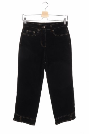 Дамски джинси Fabiani, Размер S, Цвят Черен, Цена 9,58лв.