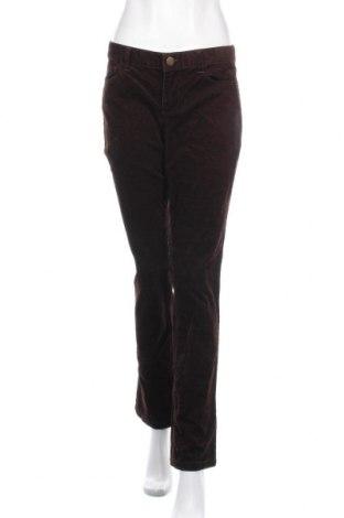 Дамски джинси J.Crew, Размер L, Цвят Кафяв, 98% памук, 2% еластан, Цена 19,43лв.