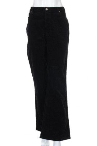 Дамски джинси Warehouse, Размер XL, Цвят Черен, 99% памук, 1% еластан, Цена 17,48лв.