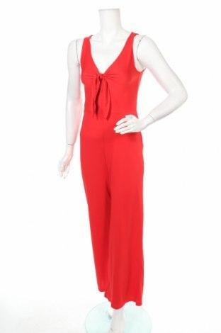 Salopetă de femei Jus D'orange, Mărime S, Culoare Roșu, 95% poliester, 5% elastan, Preț 69,08 Lei
