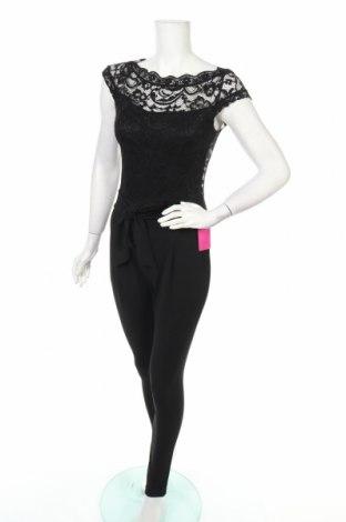 Γυναικεία σαλοπέτα Just For You, Μέγεθος XS, Χρώμα Μαύρο, 92% πολυαμίδη, 8% ελαστάνη, Τιμή 10,18€