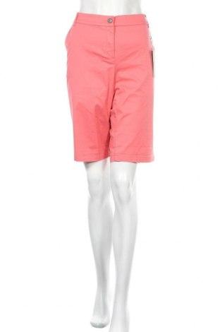 Γυναικείο κοντό παντελόνι Christian Berg, Μέγεθος XL, Χρώμα Ρόζ , 98% βαμβάκι, 2% ελαστάνη, Τιμή 12,63€