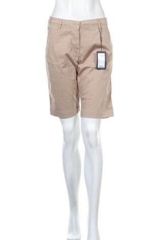 Γυναικείο κοντό παντελόνι Daniel Hechter, Μέγεθος S, Χρώμα  Μπέζ, 98% βαμβάκι, 2% ελαστάνη, Τιμή 13,78€