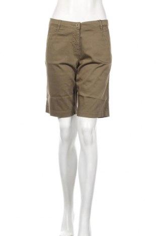 Γυναικείο κοντό παντελόνι Daniel Hechter, Μέγεθος M, Χρώμα Πράσινο, 98% βαμβάκι, 2% ελαστάνη, Τιμή 14,29€