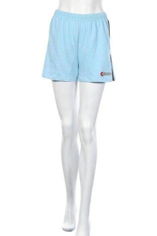 Γυναικείο κοντό παντελόνι Erima, Μέγεθος S, Χρώμα Μπλέ, 70% βαμβάκι, 30% πολυεστέρας, Τιμή 8,82€
