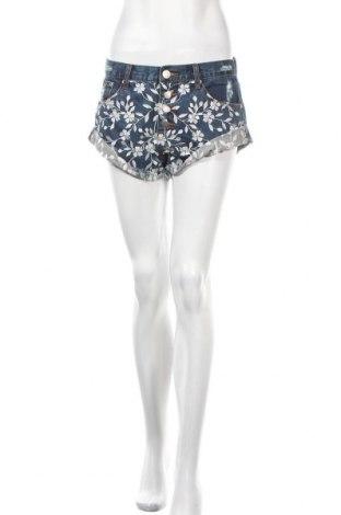 Γυναικείο κοντό παντελόνι Glamorous, Μέγεθος M, Χρώμα Μπλέ, Βαμβάκι, Τιμή 17,32€