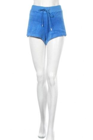 Γυναικείο κοντό παντελόνι Juicy Couture, Μέγεθος XL, Χρώμα Μπλέ, 78% βαμβάκι, 22% πολυεστέρας, Τιμή 15,14€