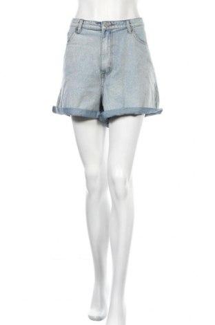 Γυναικείο κοντό παντελόνι Missguided, Μέγεθος XXL, Χρώμα Μπλέ, Βαμβάκι, Τιμή 17,01€