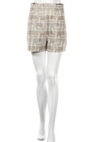 Дамски къс панталон See U Soon, Размер M, Цвят Екрю, 56% памук, 41% полиестер, 3% метални нишки, Цена 24,36лв.
