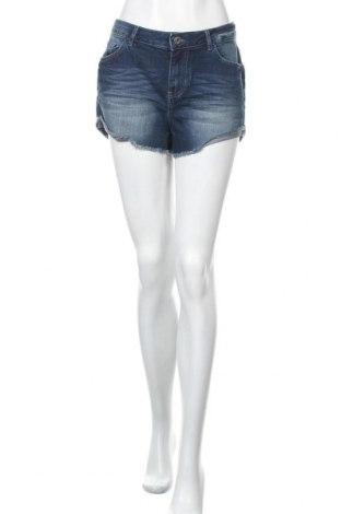 Γυναικείο κοντό παντελόνι Tom Tailor, Μέγεθος M, Χρώμα Μπλέ, 98% βαμβάκι, 2% ελαστάνη, Τιμή 12,63€