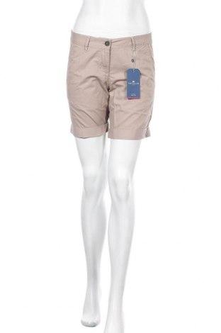 Pantaloni scurți de femei Tom Tailor, Mărime S, Culoare Maro, Bumbac, Preț 145,56 Lei