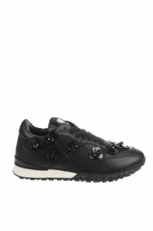 Γυναικεία παπούτσια TWINSET, Μέγεθος 39, Χρώμα Μαύρο, Γνήσιο δέρμα, Τιμή 92,40€