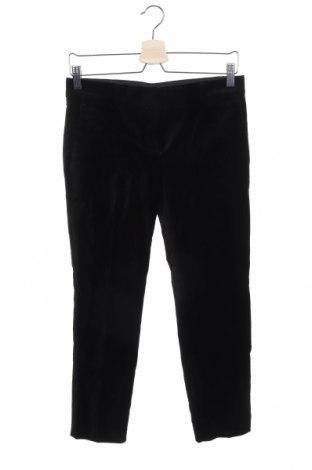 Дамски панталон Ann Taylor, Размер S, Цвят Черен, 62% памук, 36% полиестер, 2% еластан, Цена 9,45лв.
