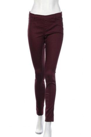 Γυναικείο παντελόνι Camaieu, Μέγεθος L, Χρώμα Κόκκινο, 68% βαμβάκι, 29% πολυεστέρας, 3% ελαστάνη, Τιμή 17,03€