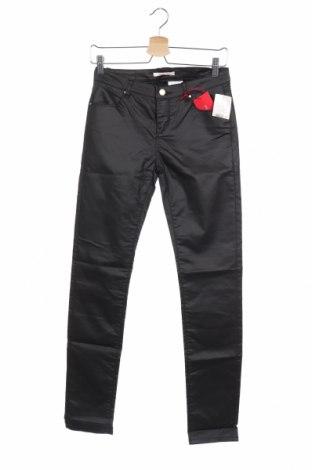 Γυναικείο παντελόνι Camaieu, Μέγεθος S, Χρώμα Μαύρο, 72% βαμβάκι, 27% πολυεστέρας, 1% ελαστάνη, Τιμή 17,03€