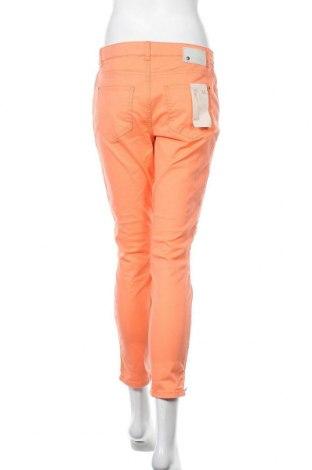 Дамски панталон Christian Berg, Размер M, Цвят Оранжев, 98% памук, 2% еластан, Цена 26,28лв.