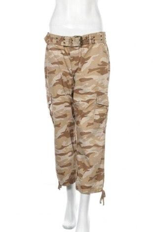 Дамски панталон DKNY Jeans, Размер M, Цвят Кафяв, Памук, Цена 10,13лв.