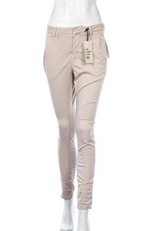 Дамски панталон Drykorn for beautiful people, Размер S, Цвят Бежов, 80% памук, 8% лиосел, 2% еластан, Цена 24,57лв.