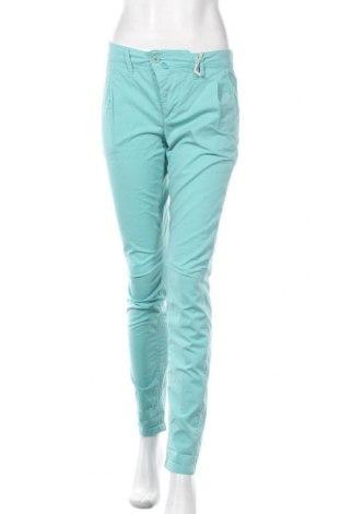 Дамски панталон Drykorn for beautiful people, Размер S, Цвят Син, 98% памук, 2% еластан, Цена 30,43лв.