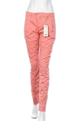 Дамски панталон Drykorn for beautiful people, Размер M, Цвят Розов, 98% памук, 2% еластан, Цена 32,04лв.