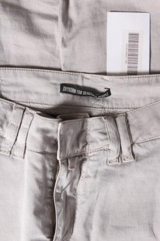 Дамски панталон Drykorn for beautiful people, Размер S, Цвят Сив, 60% памук, 38% лиосел, 2% еластан, Цена 30,94лв.