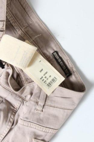 Дамски панталон Drykorn for beautiful people, Размер S, Цвят Бежов, 60% памук, 38% лиосел, 2% еластан, Цена 28,35лв.