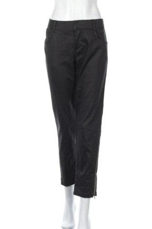 Дамски панталон Estelle, Размер M, Цвят Черен, 75% памук, 23% полиестер, 2% еластан, Цена 24,57лв.