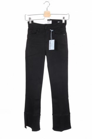 Γυναικείο παντελόνι Frame, Μέγεθος XS, Χρώμα Μαύρο, 68% βαμβάκι, 17% τενσελ, 8% μοντάλ, 4% πολυεστέρας, 3% ελαστάνη, Τιμή 43,44€