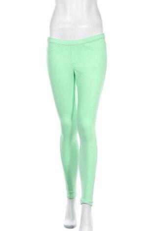 Дамски панталон Hue, Размер S, Цвят Зелен, 75% памук, 21% полиестер, 4% еластан, Цена 22,54лв.