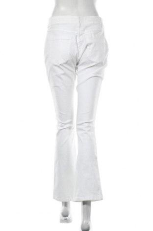 Дамски панталон La Fee Maraboutee, Размер L, Цвят Бял, 97% памук, 3% еластан, Цена 31,20лв.
