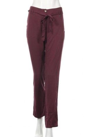 Дамски панталон La Mode Est A Vous, Размер M, Цвят Лилав, 100% вискоза, Цена 44,85лв.
