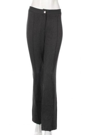 Дамски панталон Lauren Vidal, Размер M, Цвят Сив, 62% полиестер, 33% вискоза, 5% еластан, Цена 20,85лв.