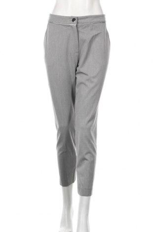 Дамски панталон Lauren Vidal, Размер S, Цвят Сив, 62% полиестер, 33% вискоза, 5% еластан, Цена 59,77лв.