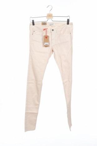 Дамски панталон Lee Cooper, Размер M, Цвят Екрю, 78% памук, 21% полиестер, 1% еластан, Цена 19,75лв.