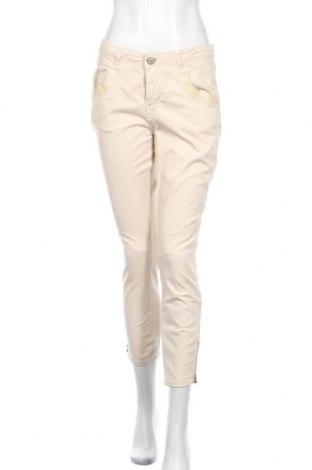 Γυναικείο παντελόνι MOS MOSH, Μέγεθος M, Χρώμα  Μπέζ, 97% βαμβάκι, 3% ελαστάνη, Τιμή 12,67€