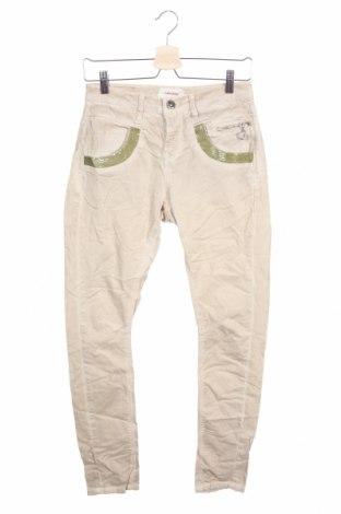 Γυναικείο παντελόνι MOS MOSH, Μέγεθος S, Χρώμα  Μπέζ, 98% βαμβάκι, 2% ελαστάνη, Τιμή 23,38€