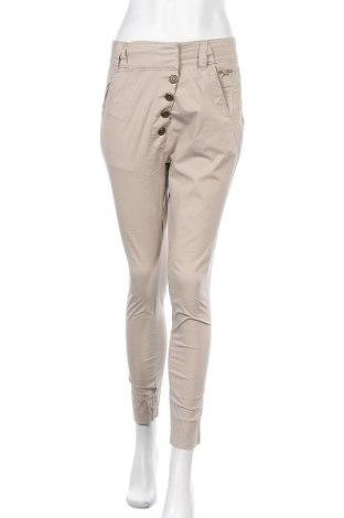 Γυναικείο παντελόνι MOS MOSH, Μέγεθος M, Χρώμα  Μπέζ, 98% βαμβάκι, 2% ελαστάνη, Τιμή 17,73€