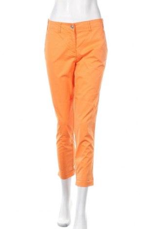 Дамски панталон Marco Pecci, Размер S, Цвят Оранжев, 97% памук, 3% еластан, Цена 24,94лв.