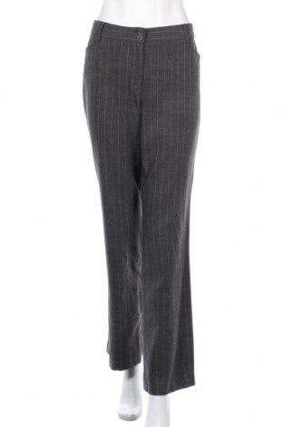 Γυναικείο παντελόνι Mark Adam, Μέγεθος M, Χρώμα Γκρί, 64% πολυεστέρας, 33% βισκόζη, 3% ελαστάνη, Τιμή 5,91€