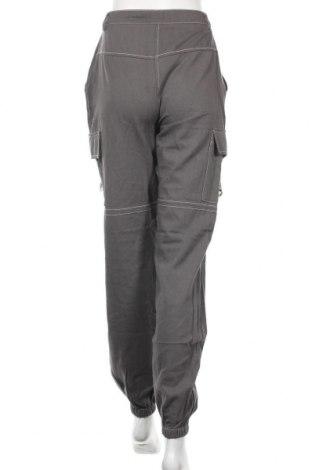 Дамски панталон Missguided, Размер S, Цвят Сив, Памук, Цена 12,40лв.