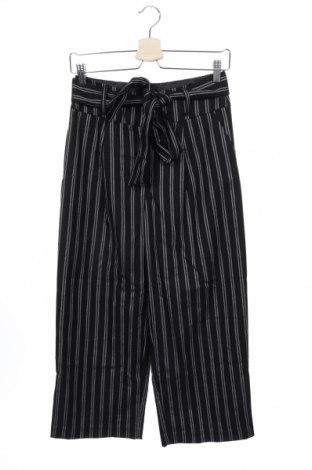 Дамски панталон New Look, Размер S, Цвят Черен, 64% полиестер, 34% вискоза, 2% еластан, Цена 17,28лв.