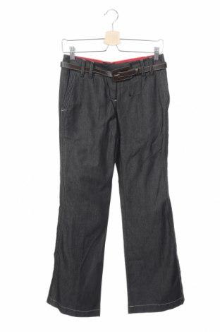 Дамски панталон Next, Размер XS, Цвят Сив, Памук, Цена 7,29лв.