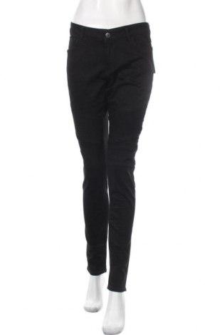 Дамски панталон On.You, Размер L, Цвят Черен, 98% памук, 2% еластан, Цена 32,22лв.
