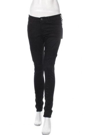 Дамски панталон On.You, Размер S, Цвят Черен, 98% памук, 2% еластан, Цена 32,22лв.