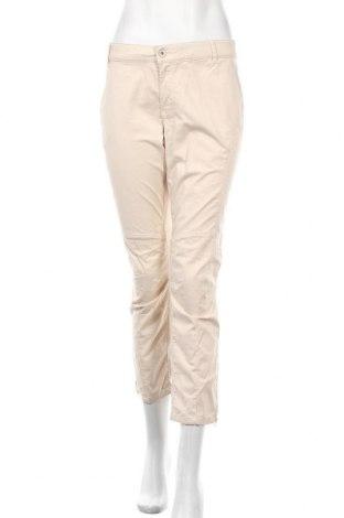Дамски панталон One Step, Размер XL, Цвят Бежов, 97% памук, 3% еластан, Цена 18,24лв.
