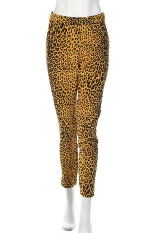 Дамски панталон Orna Farho, Размер M, Цвят Жълт, Полиестер, Цена 28,88лв.