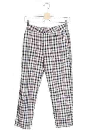 Дамски панталон Pull&Bear, Размер XS, Цвят Многоцветен, 68% полиестер, 32% памук, Цена 31,27лв.